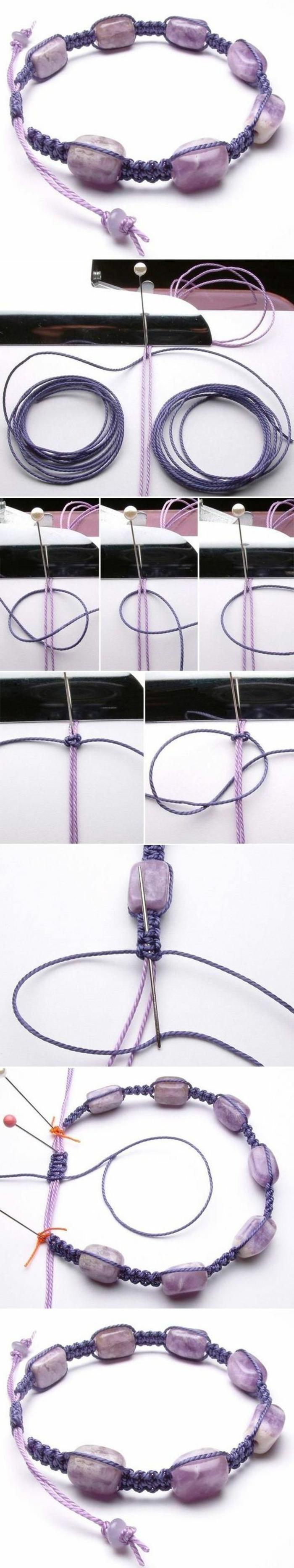 pulseras-de-macrame-y-perlas-como-hacer-pulsera-paso-a-paso-tono-violeta-elegante