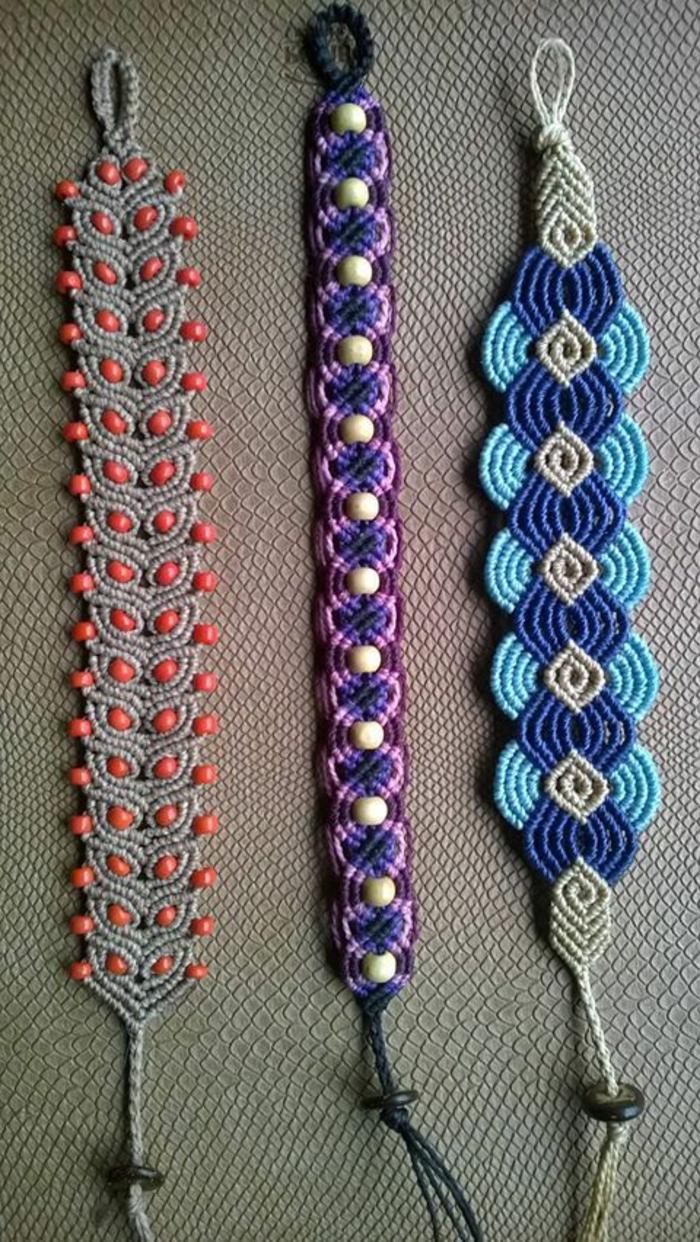 pulseras-macrame-diferentes-diseños-y-colores-elegantes-femeninos-fácil-de-hacer