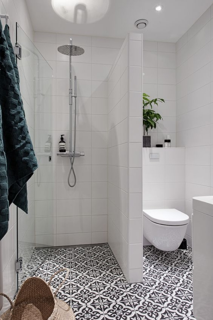 Azulejos cuartos de bao pequeos top azulejos para el for Habitaciones con azulejos