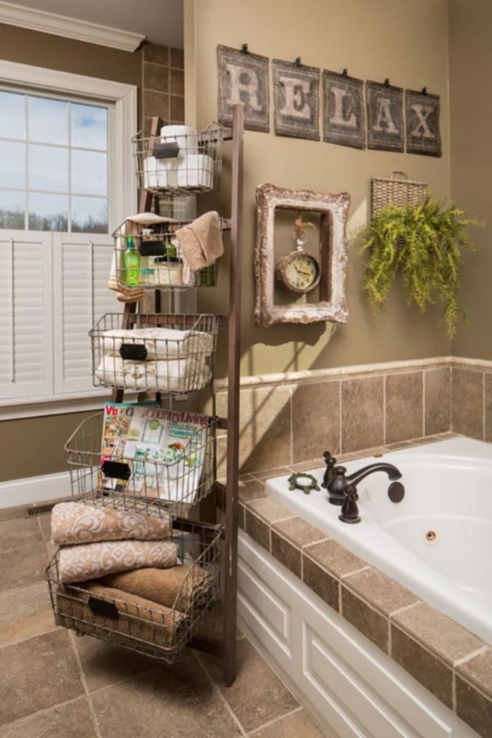 cuartos de baño, decoración bonita, tonos naturales, bañera, estilo modernista