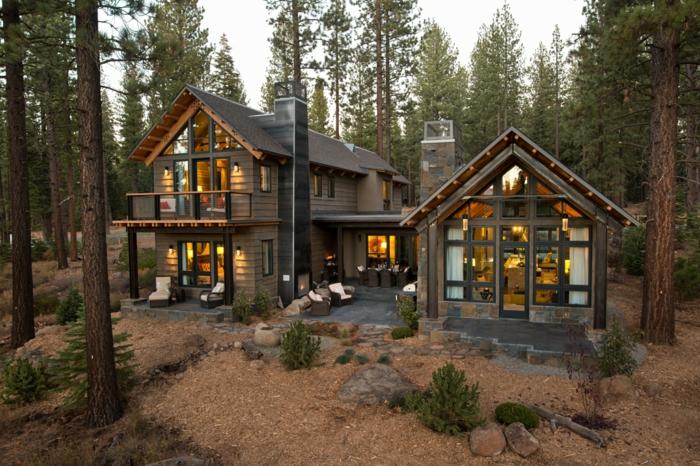 1001 casas de campo que te van a impresionar - Casas rurales de madera ...
