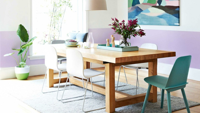 Color Pared Comedor. Awesome Colores Paredes Comedor Comedor Color ...