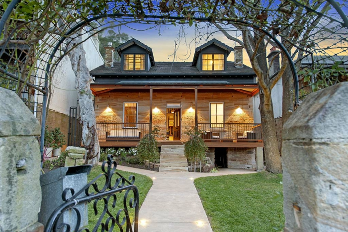 1001 casas de campo que te van a impresionar - Casa jardin madera ...