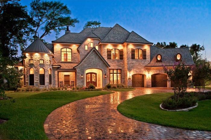 1001 casas de campo que te van a impresionar for Big country style homes