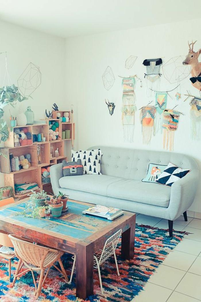 1001 ideas c mo decorar paredes f cil y original Ideas para decorar paredes de sala