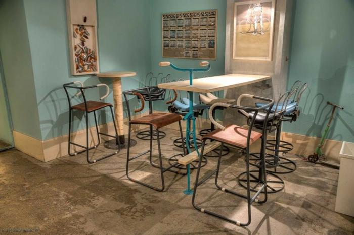 1001 ideas de muebles reciclados para interiores y exteriores - Como hacer un mueble para tv ...