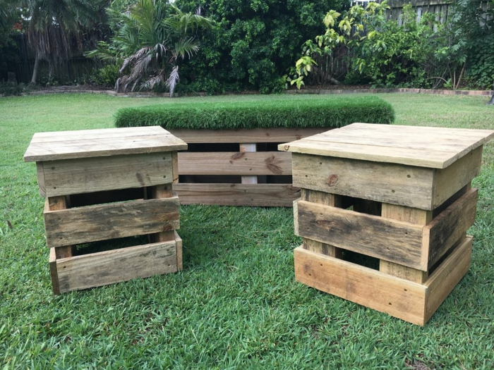 Muebles jardin palets top pallet with muebles jardin for Muebles de jardin hechos con palets