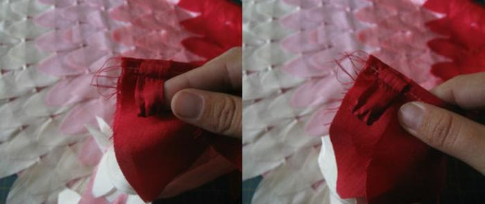 disfraz casero, como coser un disfraz de alas de pajaro en rosa y rojo
