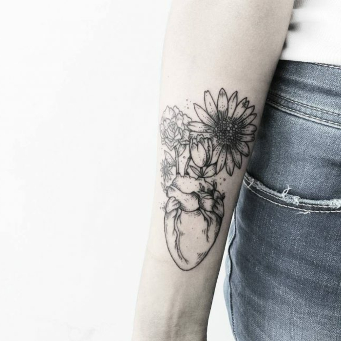 Tatuaje Flores Brazo Mujer Affordable Flores De Amigas With Tatuaje