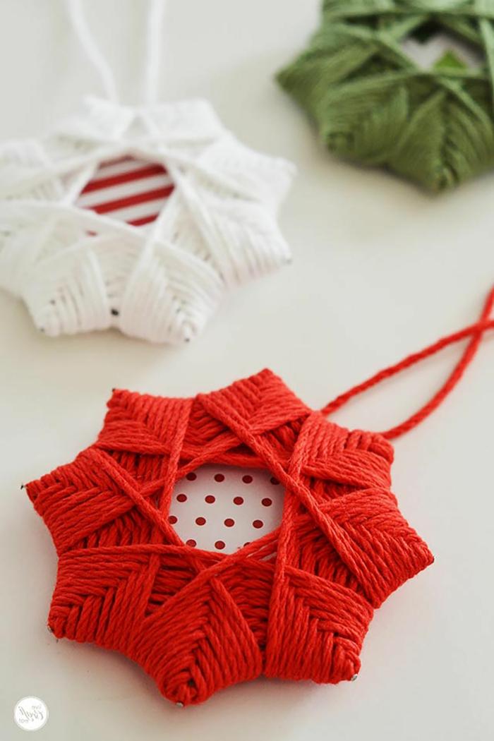 1001 ideas de adornos navide os para hacer en tu casa - Adornos de navidad hechos a mano ...