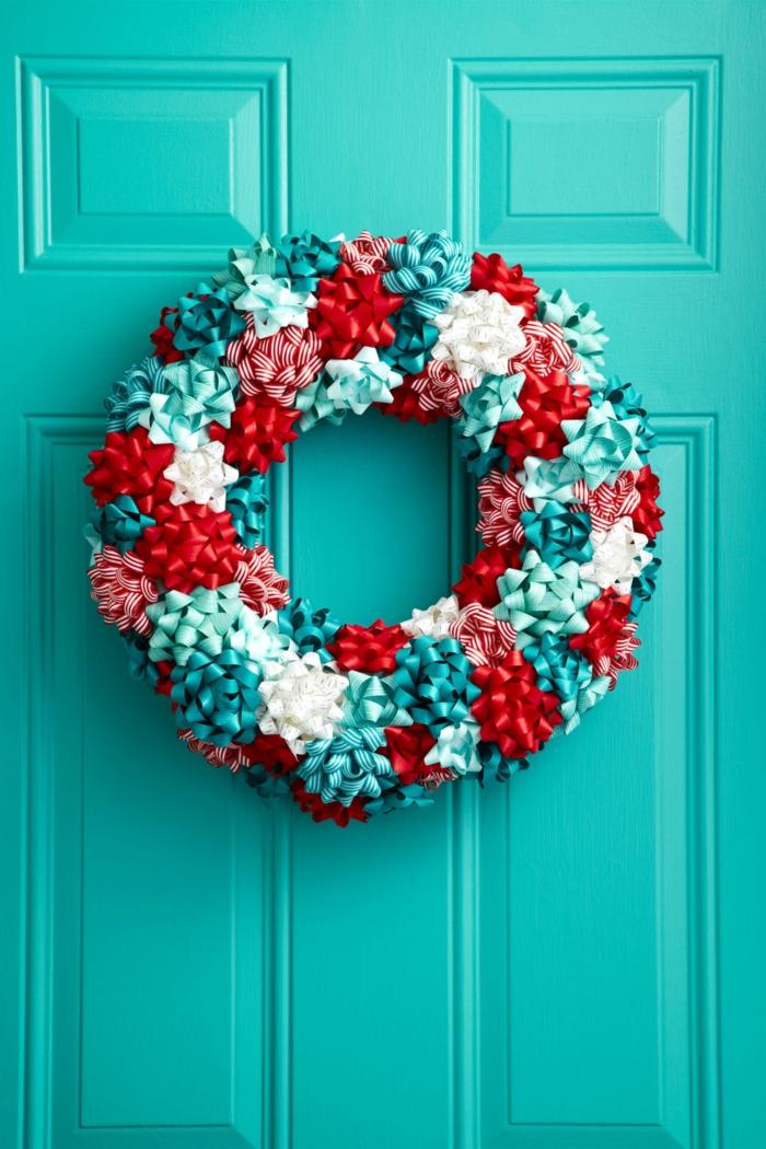1001 ideas de adornos navide os para hacer en tu casa for Coronas de navidad hechas a mano