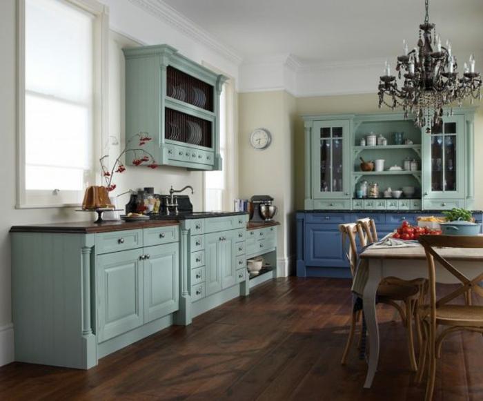 1001 ideas de cocinas rusticas c lidas y con encanto - Tarima para cocina ...