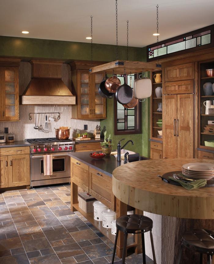 1001 ideas de cocinas rusticas c lidas y con encanto - Suelos de gres para cocinas ...