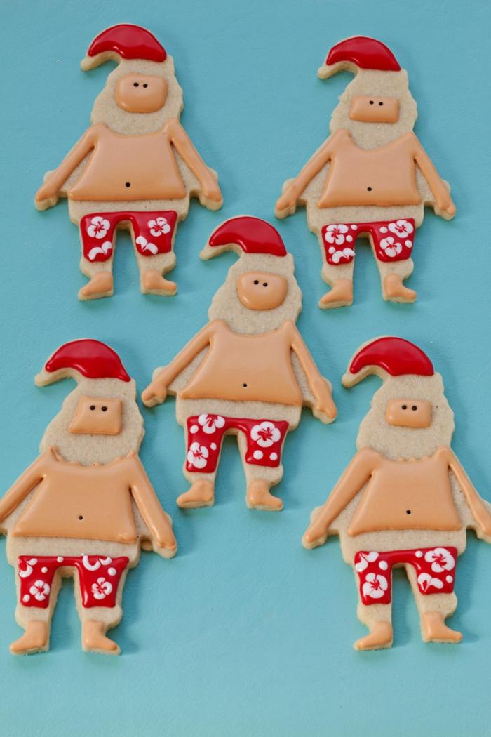 manualidades de navidad faciles, como hacer galletas en formas
