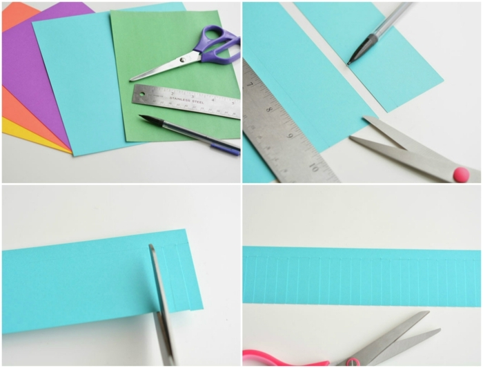 flores de papel, materiales necesarios para hacer flores de papel, regla y tijeras