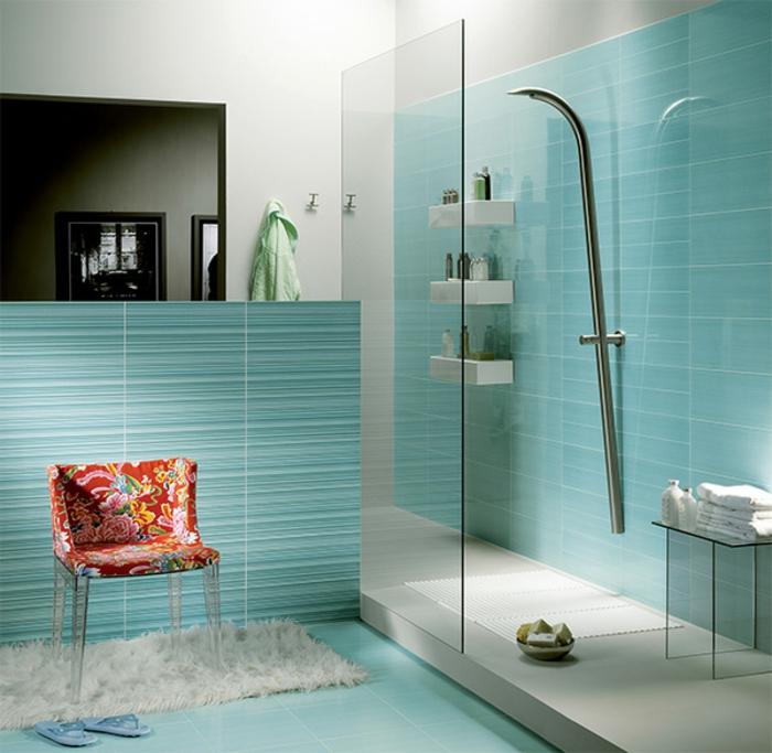 reformar baño, como hacer tu baño moderno, azulejos en rayas horizontales