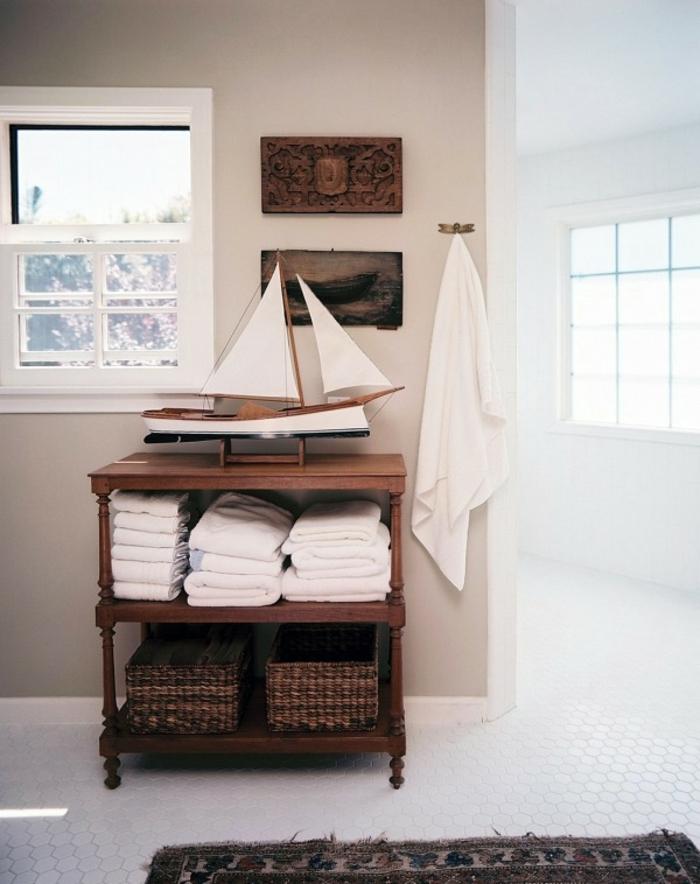 reformar baño, como conseguir un baño de encanto, mueble de madera