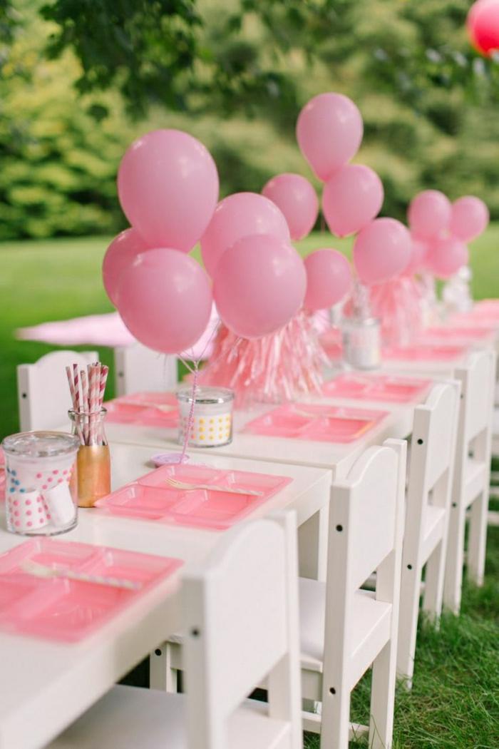 1001 ideas para decoracion cumplea os tutoriales diy - Decoracion de cumpleanos rosa y dorado ...