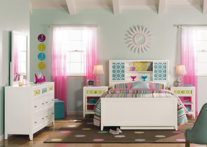 1001 ideas para decorar habitaciones infantiles for Decoracion habitacion chica