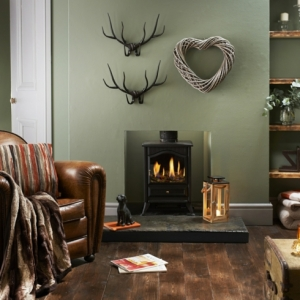 Cómo decorar un salón para conseguir un estilo rústico