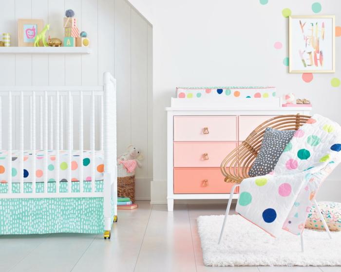 habitaciones juveniles, habitación de bebé, colores pastel, litera blanca