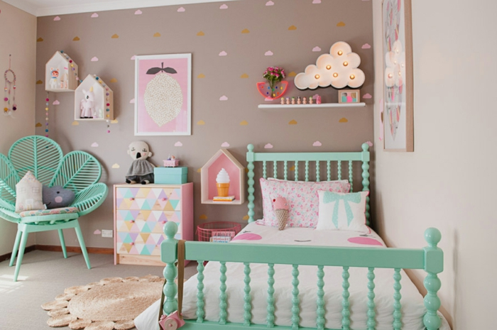 Decoration Chambre Couleur Pastel : Ideas para decorar habitaciones infantiles