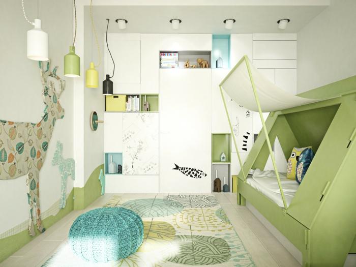 1001 ideas para decorar habitaciones infantiles - Decoracion paredes habitacion infantil ...
