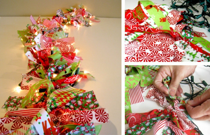 como hacer adornos de navidad, decoración multicolor, lámparas colgantes