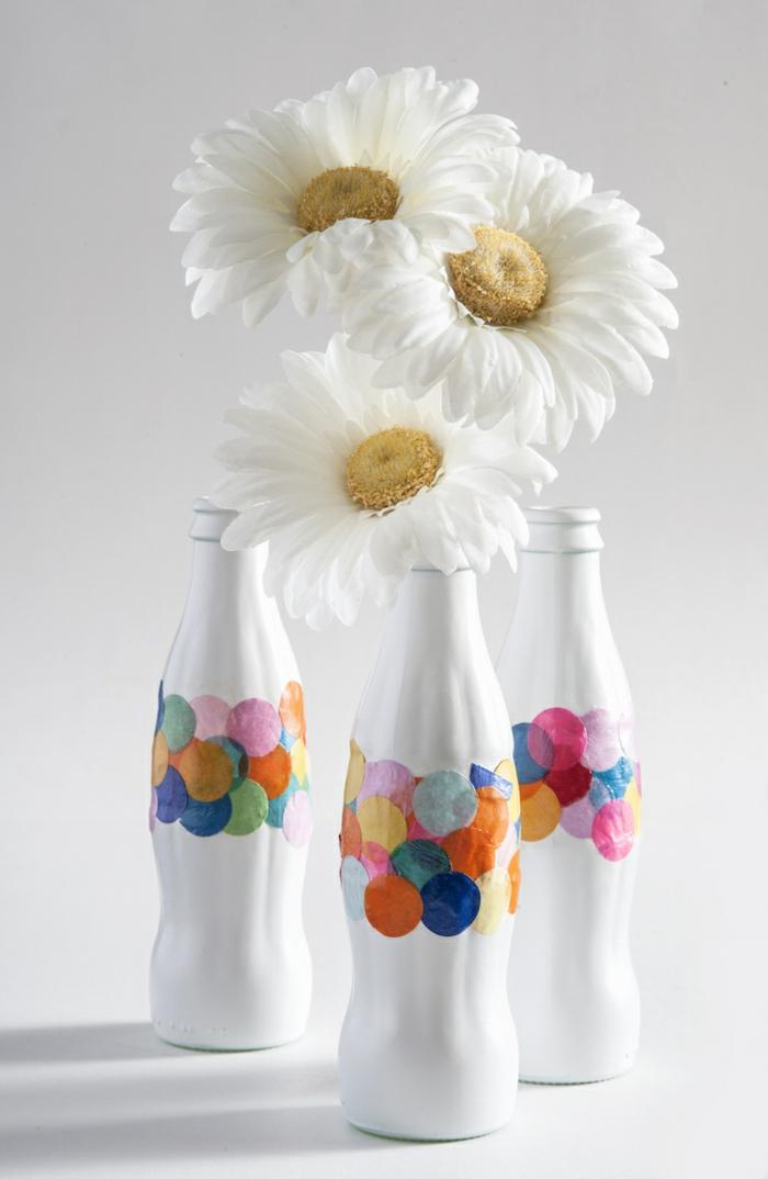 1001 ideas de manualidades faciles para cualquier gusto con tutoriales - Botellas decoradas manualidades ...