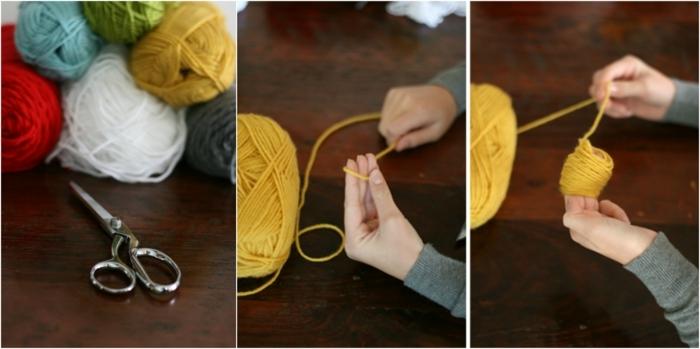 manualidades paso a paso,instrucciones para hacer separador de libros de lana