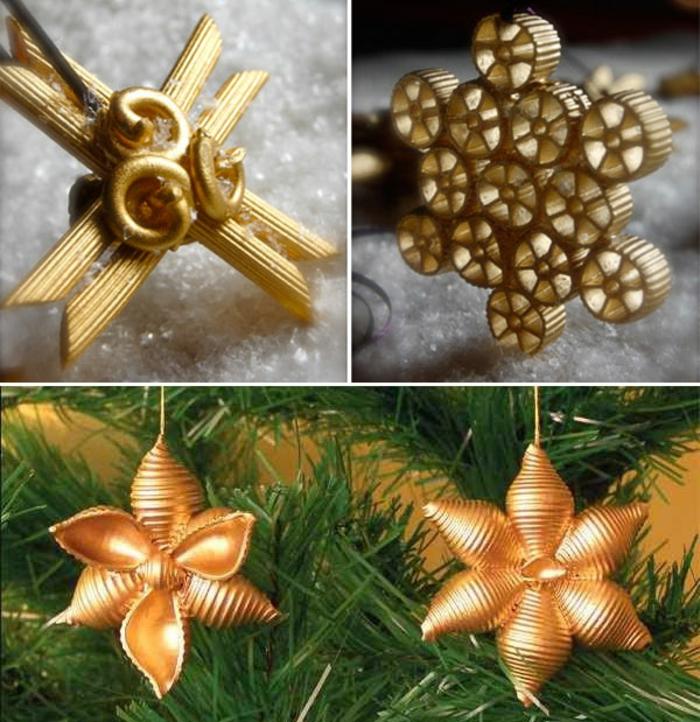 adornos navideños, flores brillantes, elementos colgantes para el árbol