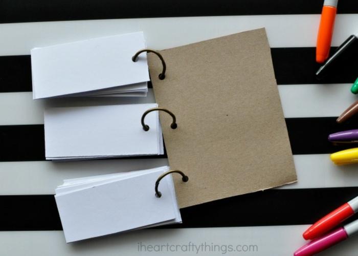 manualidades utiles, cuaderno divertido, marcadores de colores