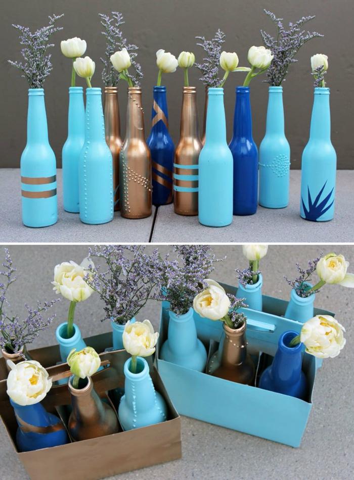 1001 ideas de manualidades faciles para cualquier gusto for Manualidades con botellas de vidrio