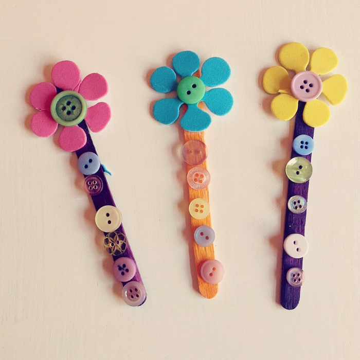 como hacer manualidades, diy útil, separador de libros, forma de flor