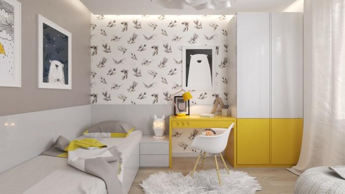 1001 ideas para decorar habitaciones infantiles for Habitacion infantil nordica