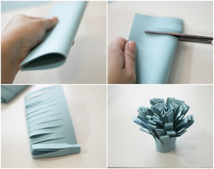 plantillas de flores, tutorial para hacer flores de papel, cómo cortar los pétalos