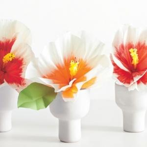 Cómo hacer flores de papel - tutoriales detallados