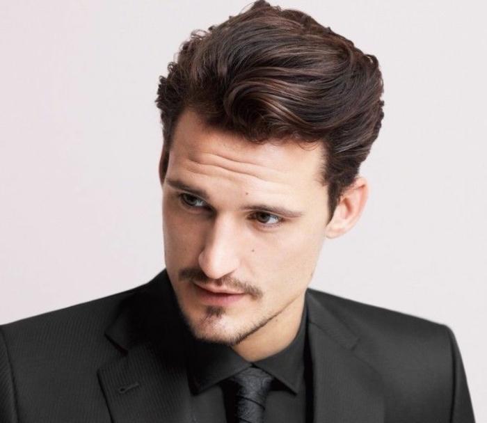 1001 ideas sobre cortes de pelo hombre que est n de moda for Peinado hacia atras hombre