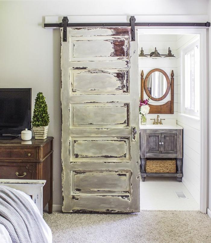 Pintar blanco envejecido paso a paso great envejecer - Pintar muebles estilo vintage ...