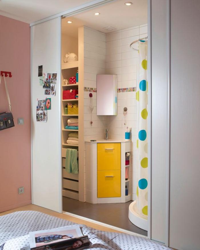 decoracion baños pequeños, como decorar un baño de niños, colores llamativos