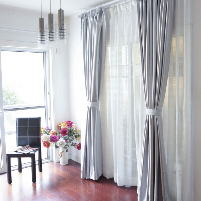 1001 ideas sobre cortinas modernas y elegantes 2017 2018 for Cortinas visillo modernas