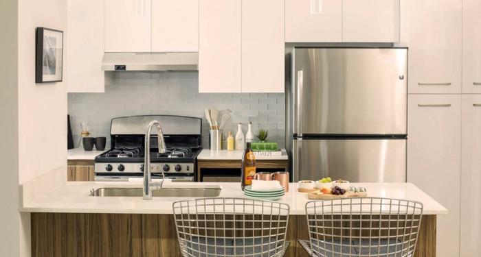 1001 ideas sobre decoraci n de cocinas blancas - Cocinas con islas pequenas ...