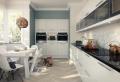 Decoración de cocinas blancas – luz y elegancia