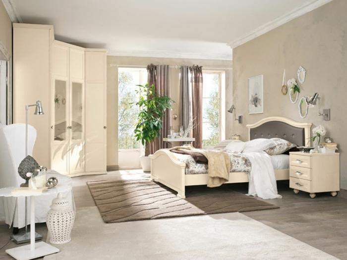 Dormitorios decorados en blanco with dormitorios - Decorar dormitorio blanco ...