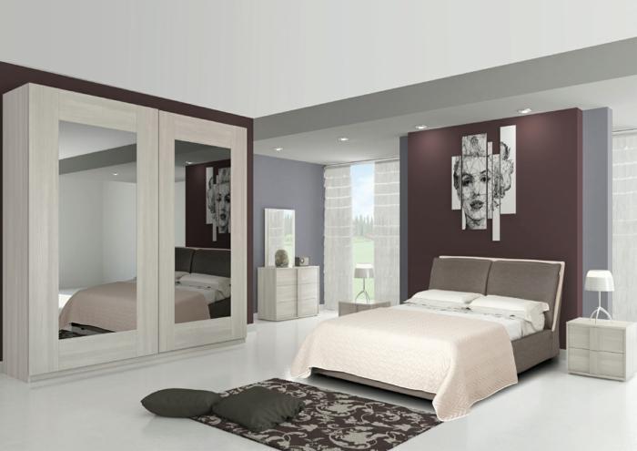 1001 ideas sobre decoraci n dormitorios estilo moderno for Espejos para habitaciones