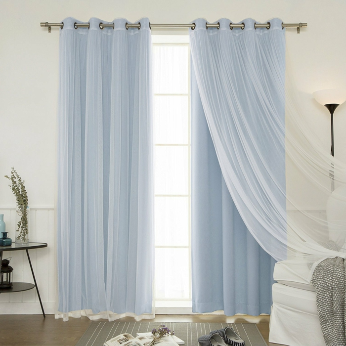 1001 ideas sobre cortinas modernas y elegantes 2017 2018 for Cortinas tipo visillo