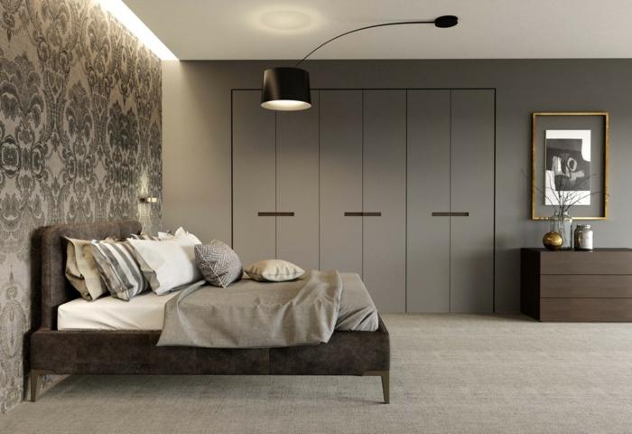 1001 ideas sobre decoraci n dormitorios estilo moderno for Decoracion dormitorio gris