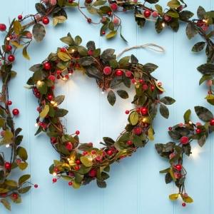 Preciosas coronas de Navidad con tutoriales paso a paso