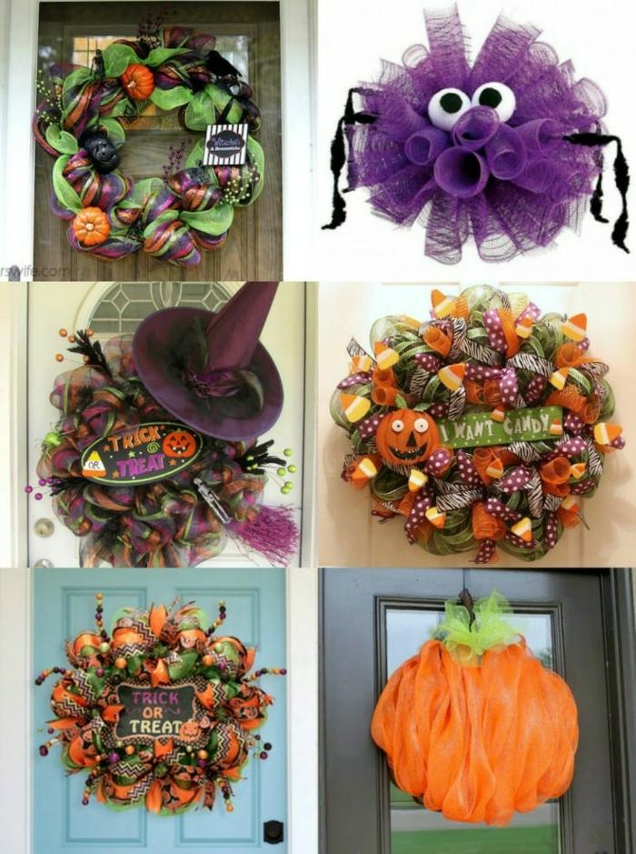 1001 ideas sobre manualidades halloween para decorar tu casa - Decorar calabazas para halloween infantiles ...