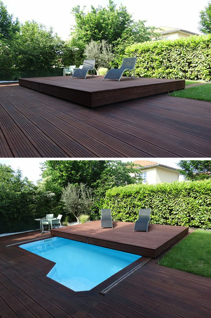 1001 ideas de piscinas peque as para tu patio for Diseno de una piscina